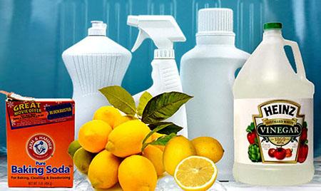 productos de limpieza naturales